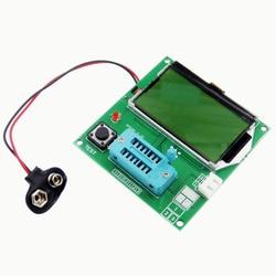 Cyfrowy LCD GM328A tester próbnik elektroniczny pojemność wskaźnika pokrycia wypływów netto miernik parametru esr MOS/PNP/NPN V2PO w Części i akcesoria do drukarek 3D od Komputer i biuro na