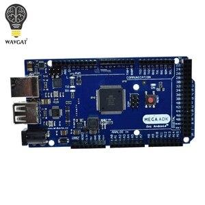 Image 2 - WAVGAT Mega 2560 R3 16AU Board 2012 Google Open ADK płyta główna (dla kompatybilnego Mega 2560 ATmega2560 16AU + kabel USB