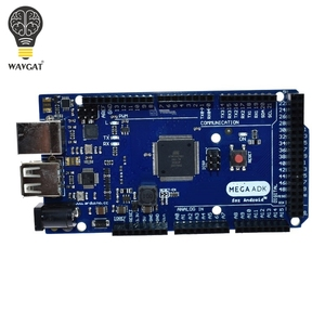 Image 2 - Wavgatメガ 2560 R3 16AUボード 2012 googleオープンadkメインボード (互換mega 2560 ATmega2560 16AU + usbケーブル