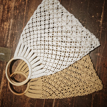 Cotton thread woven bag for women 2019 new net hollow pastoral web celebrity same fishing holiday beach