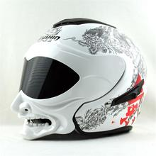 Nouvelle personnalité Marushine C609 casque de moto Été casque Marushin grimace guerrier style casque Open face Demi casque