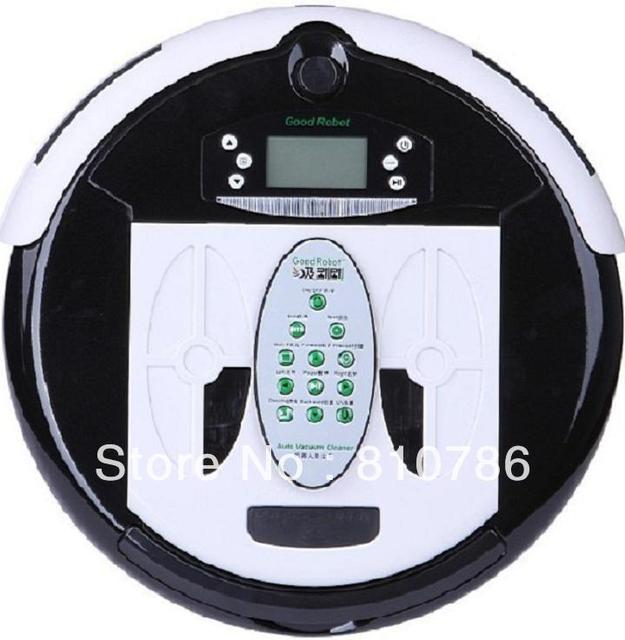 4 In 1 Multifunctional Wet&Dry Robot  Vacuum Cleaner+ 0.7L Rubblish Box+UV lights+Auto Recharged