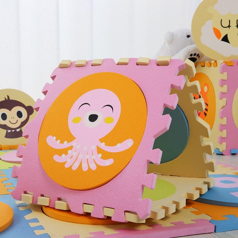 Eva Foam Mat Baby Playing Mat Cartoon Pattern Puzzle Mat Փափուկ - Խաղալիքներ նորածինների համար - Լուսանկար 3