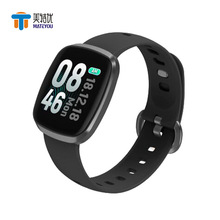 MATEYOU  color screen smart bracelet full touch ultra-thin body heart rate blood pressure exercise plan step watch