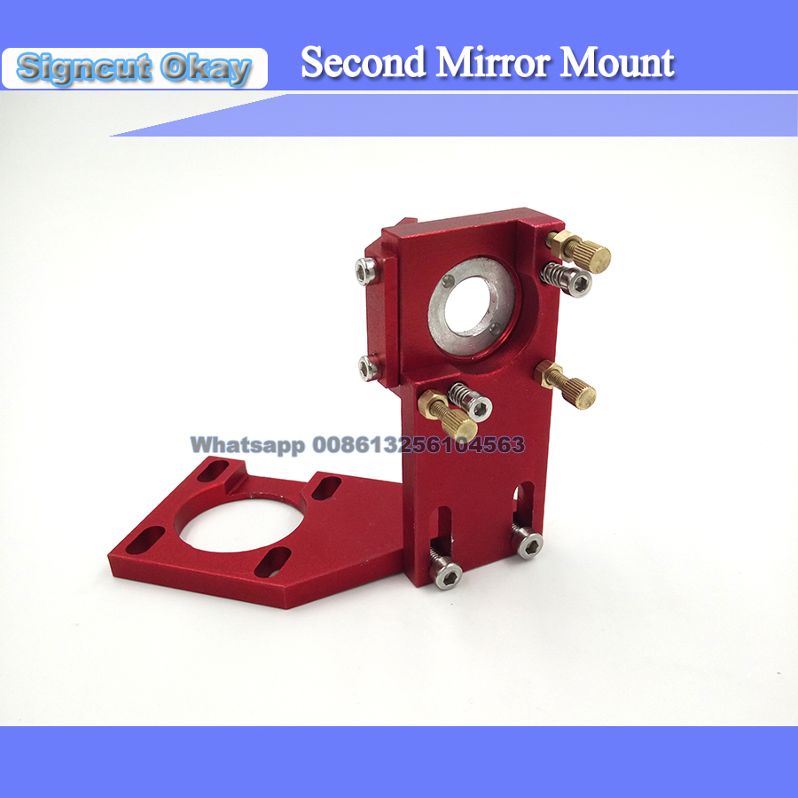 Co2 Laser Second Reflection Mirror Dia 20mm Mount Support Integrative Holder For Laser Stamp  Engraving Cutting Machine