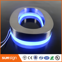 Outdoor 3D Acrylic Front Lit LED Store Sign