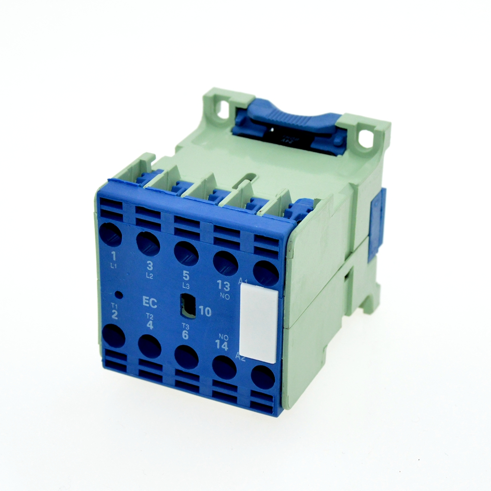 AC-3 Rated Operational Current 9A 3Poles+1NO 24VAC 50Hz / 60Hz Coil Voltage AC Contactor Motor Starter Relay DIN Rail Mount