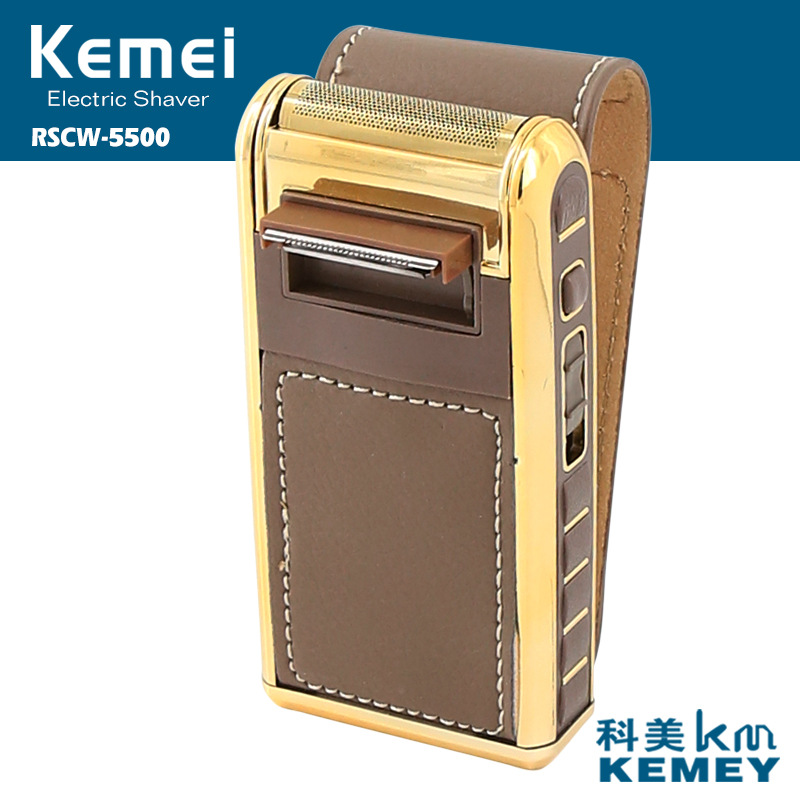 kemei rechargeable electric shaver barbeador face care electric razor beard shaver men shaving machine trimmer