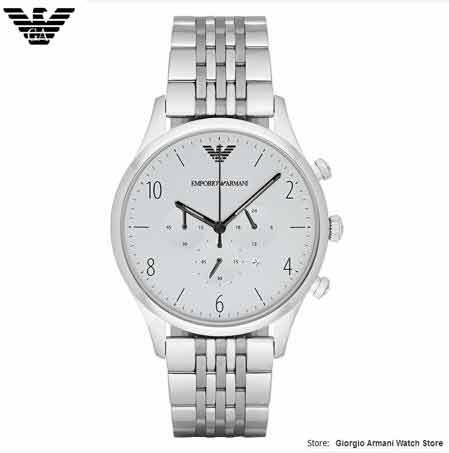 Giorgio Armani จัดส่งฟรี EMS / DHL Armani - นาฬิกาผู้ชาย