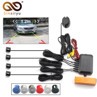 2017 Dual Core CPU Car Video Parking Sensor Visible Reverse Backup Radar Alarm Display Image And