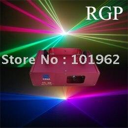 Spectacle de lumière laser activé par son d'éclairage de partie de DMX 270 mw RGV