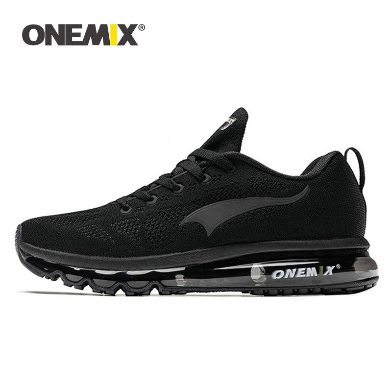 ONEMIX 2019 hommes chaussures de course femmes légères baskets doux respirant maille déodorant semelle extérieure athlétique marche jogging chaussures