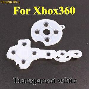 Image 3 - ChengHaoRan 10 set Conduttivi Gomma di Silicone Pad Per Xbox360 Controller Wireless Per Xbox 360 360 Contatto Pulsante D Pad di Riparazione