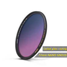NiSi 67mm/72mm/77mm/82mm GND GC-GRAY Filter Ultra-thin Optical Glass Nano Coating Filter For Waterproof Filter