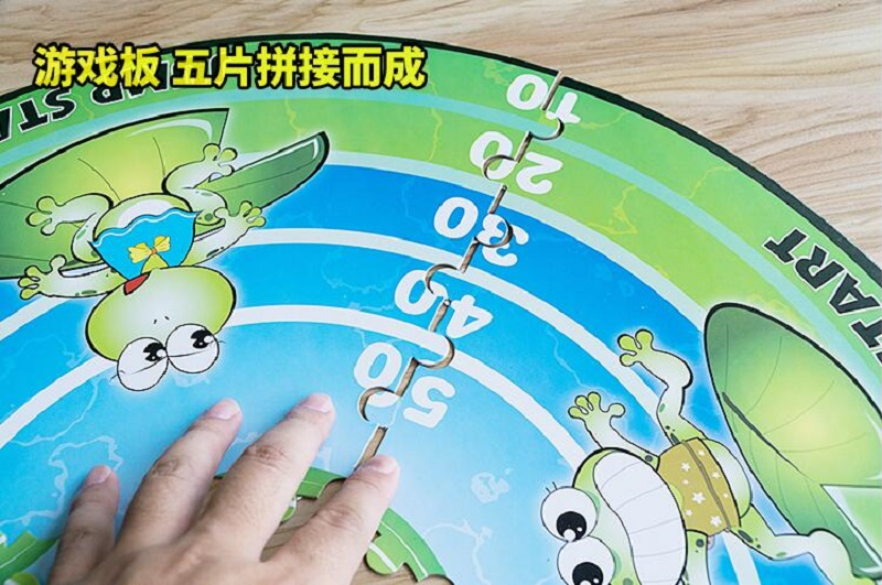 Bouncing Frog Frog Jumping toy Multiplayer Funny Family Party Game Puzzle board game for Ages 6