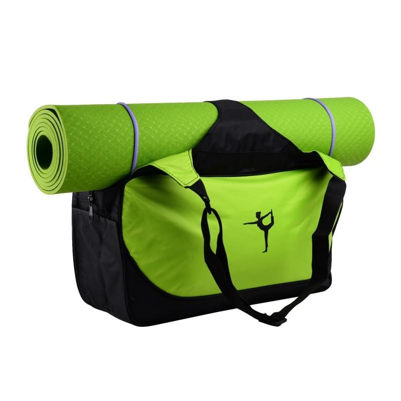 Prix pour Multifonctionnel vêtements yoga sac de yoga sac à dos 2017 épaule étanche yoga pilates mat cas sac transporteurs tapis de gymnastique sport sac