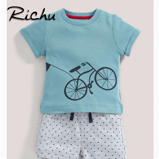 eb804f08d8234 Richu children clothes china night suit for boys sleep wear two pieces kids  formal suits for boys casual kids sport suits 5 year