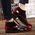 2016 Горячие Мужчины Обувь Мода Теплые Зимние Мужчин Сапоги Осень кожаная Обувь Для Человека Новый Высокого Верха Туфли Zapatillas Hombre