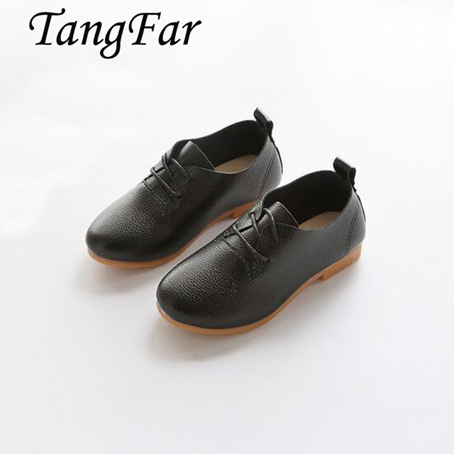 2017 Spring Super Quality Chaussure Enfant Children PU Leather Male Kids Shoes, Boy Girl Baby Leisure Shoes .