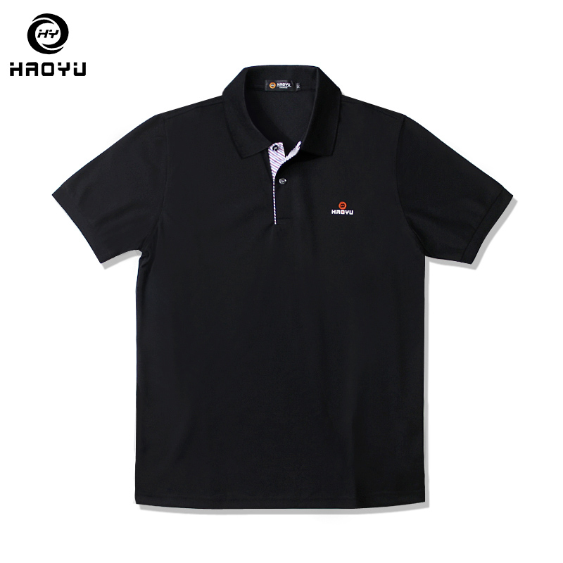 4 Solid Colors Polo Shirt Mens Short Sleeve Summer Loose Polos Man's Polo Shirts Casual Cotton New Tops Plus Size 5XL HAOYU