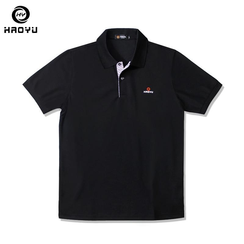 Brand Solid Polo Shirt Men Short Sleeve Slim Mens Polo