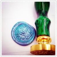 Wax Seal Stamp Handmade Logo Design Greetings Creative Stationery Sealing Wax Seal Wedding Wax Stamp Design