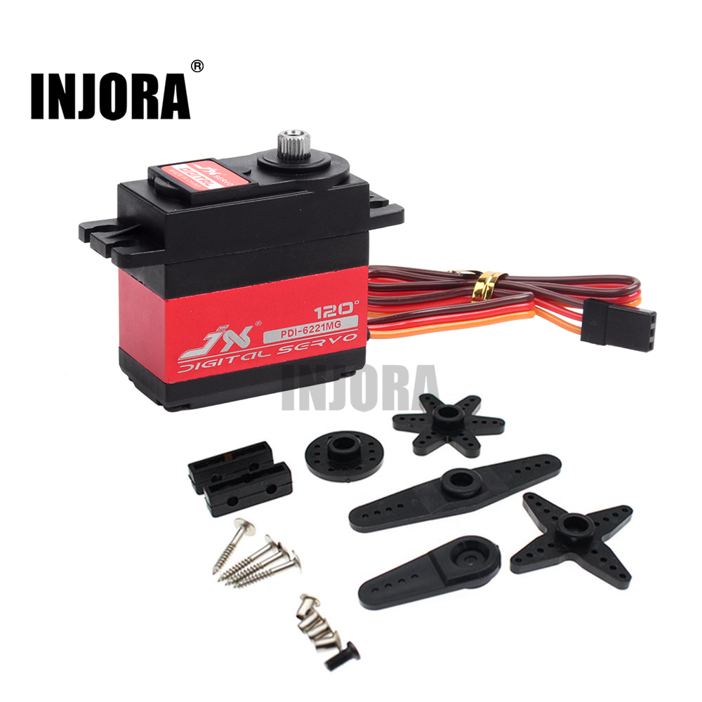 1 piezas JX PDI-6221MG 20 kg gran Torque Digital Coreless Servo para RC Car Crawler RC barco RC modelo