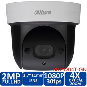 Original english dahua SD29204S-GN 1080p 2mp IR 30M nightvision Micro SD memory 4x network ptz mini dome camera DH-SD29204S-GN dahua sd29204t gn w 2mp mini ir ptz wifi ip speed dome new version english firmware wdr day night 2 7mm 11mm focal length