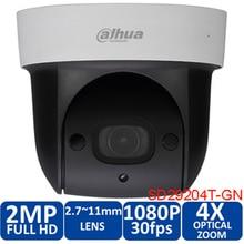 Original english dahua SD29204S GN 1080p 2mp IR 30M nightvision Micro SD memory 4x network ptz