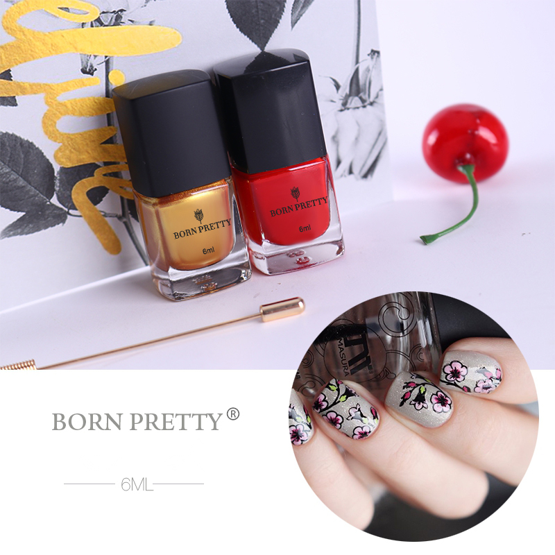 Lepota i zdravlje ... Nokti ... 32804554192 ... 5 ... BORN PRETTY 15ml/6ml  Nail Colors Nail Art Stamping Polish Sweet Style Nail Stamping Polish 72 Colors Available Nail Polish ...