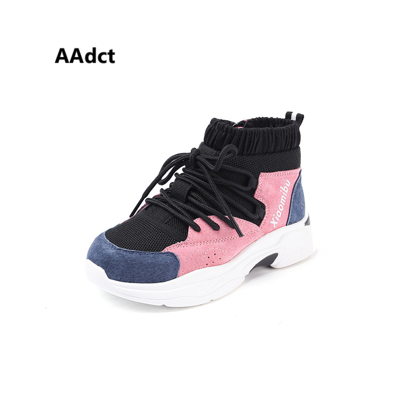 все цены на AAdct Autumn Breathable children running shoes 2018 new brand casual sports shoes for girls and boys Soft sneakers kids shoes
