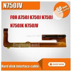Original pour For Asus A750J K750J N750J N750JK N750JV HDD2-FPC avec interface de disque dur