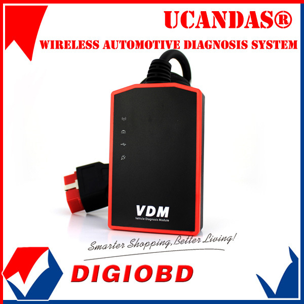 Best New Arrival Universal Car Diagnostic Tool UCANDAS VDM Wireless Automotive Diagnosis System Same Function as X431 Diagun