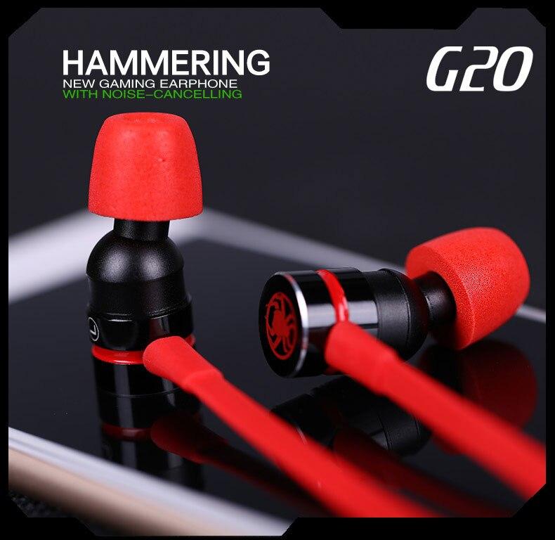 PLEXTONE G20 In-ear Earphone for Phone Computer stereo gaming PLEXTONE G20 In-ear Earphone for Phone Computer stereo gaming HTB1