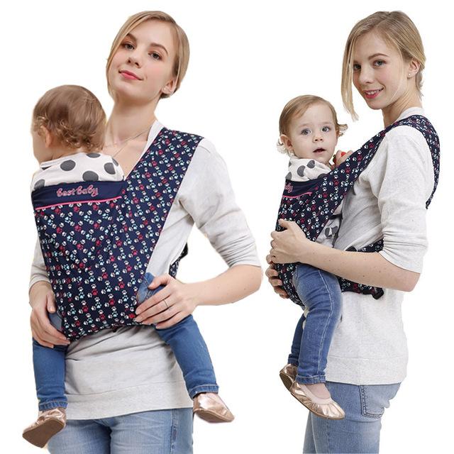 Novos portadores de bebê criança estilingue ergonômico infantil suspensórios mochila canguru largura strap sling pouch envoltório frente portador de bebê simples
