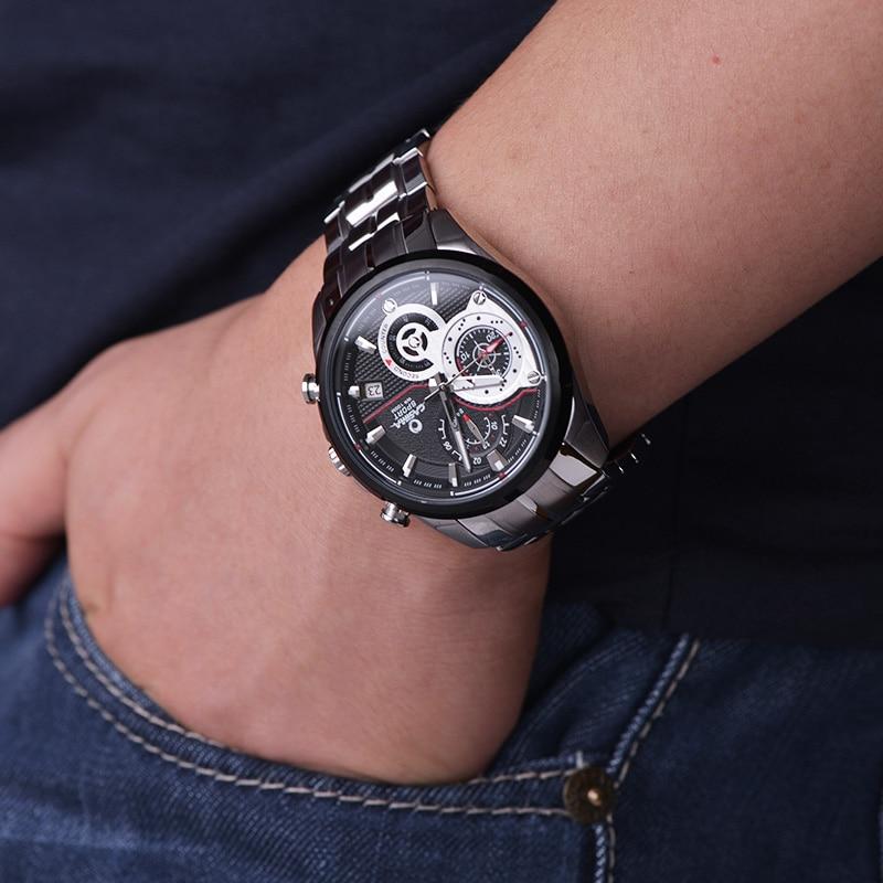 CASIMA zegarki męskie sportowe męskie zegarki. Wielofunkcyjny - Męskie zegarki - Zdjęcie 6