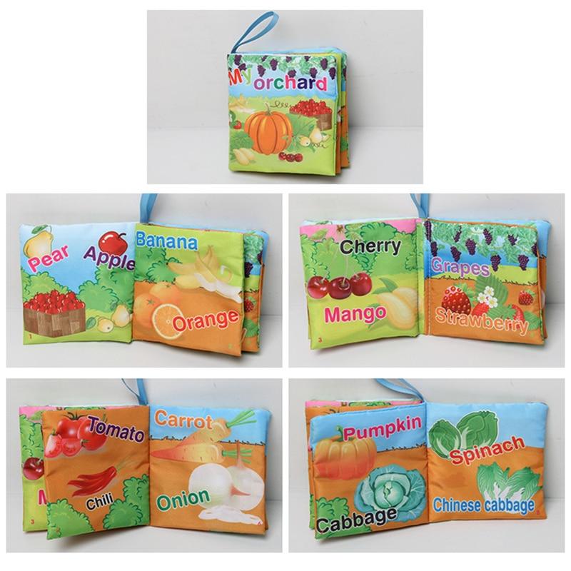 6 հատ Մանկական գրքույկ Փափուկ եղջերու - Խաղալիքներ նորածինների համար - Լուսանկար 5