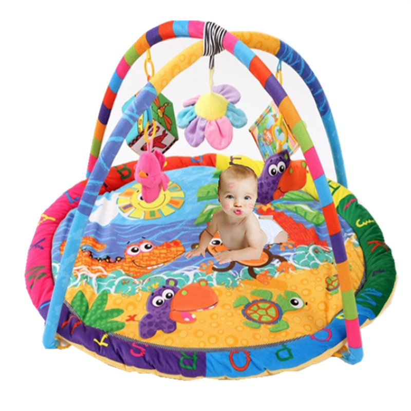 Baby Soft Play mat Game Blanket Pad Kids Play Tapaete Fitness Frame Educational Baby Toys Climb Mat Crawling Baby Gym Blanket fitness rack baby music electric game blanket newborn baby game blanket toys with remote control