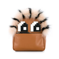 1f4e4190e 2018 New Fashion Women S Backpack Trendy Fox Fur Grass Contract Color Small  Backpacks Shoulder Crossbody