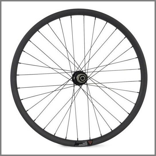 vollcarbon mountainbike räder höhe 20mm breite 30mm drahtreifen - Radfahren - Foto 3