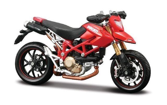 MAISTO 1:18 Ducati Hypermotard DIECAST MODEL BICI de LA MOTOCICLETA de JUGUETE NUEVO EN CAJA Envío Gratis