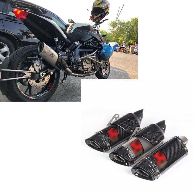 500cc 600cc r11 углерода moto rcycle глушитель выхлопной трубы R6 R1 CBR500 Z750 выхлопных газов трубно escape moto escapamento de moto