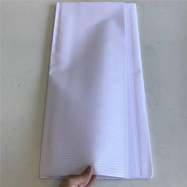 Blu Atiku Materiale di Stile di Buona Qualità Africano Atiku Tessuto Per Gli Uomini Che Fanno Abbigliamento In 5 Metri Per Pezzo 30