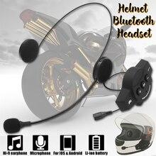 Impermeabile Auricolare Microfono Altoparlante bluetooth del casco del motociclo auricolare bluetooth 4.0 + EDR per tutto il caschi