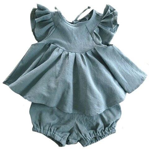 meninas terno america europeia verao crianca criancas meninas conjuntos de roupas babados princesa bebe menina