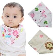 X1 Baby bibs Bandana Drool Bib Plaid Scarf for baby Newborn Boys Girls bibs Soft Cotton