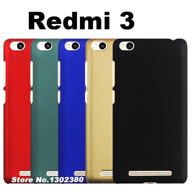 best service 8b29b ce755 US $1.99 |xiaomi redmi 3 prime case cover plastic Fingerprint proof case  xiami xiomi redmi 3 fdd case cover Scratchproof redmi3 phone case-in ...