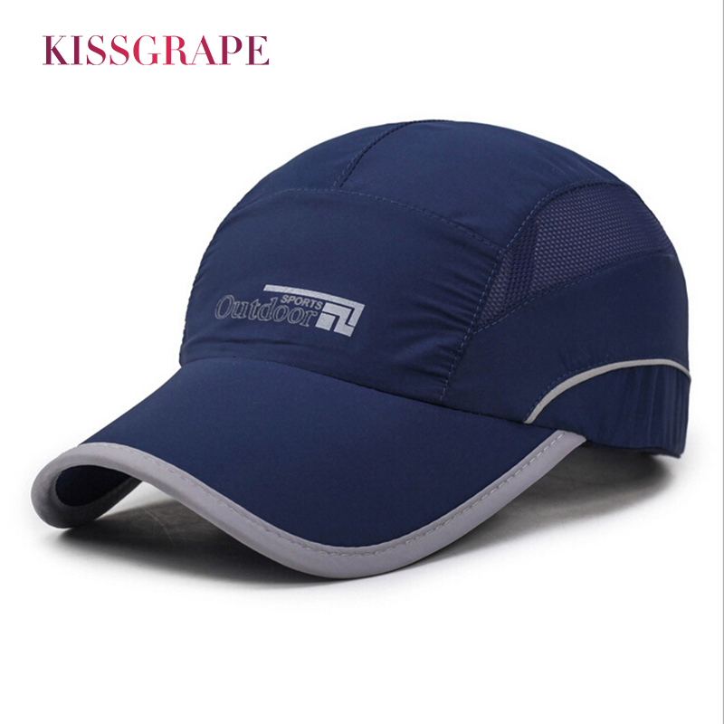New Summer Cap Branded Breatheable Baseball Men Dad Bone Snapback Hats For Quick Drying Adjustable