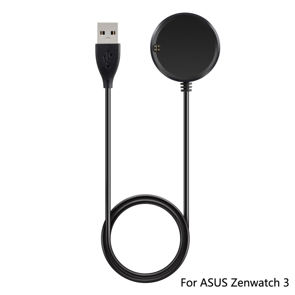 For Zenwatch 3 charging dock Smartwatch Accessory Qi Wireless Charger Charging Dock Pad + USB cable For ASUS Zenwatch 3
