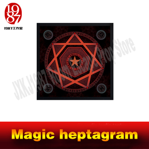 Image 2 - Room escape prop real life adventure game Magic heptagram touch the sensible points in correct sequence to unlock from JXKJ1987